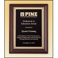 Cherry Furniture Finish Plaque